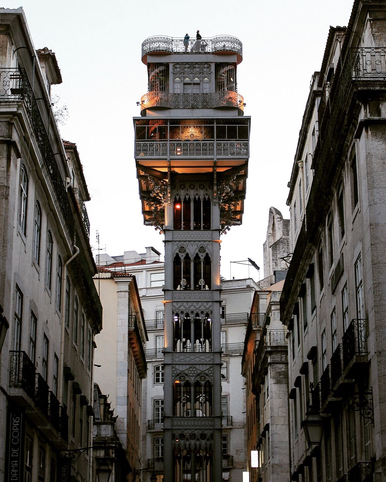 Elevador de Santa Justa First Eyeem Photo