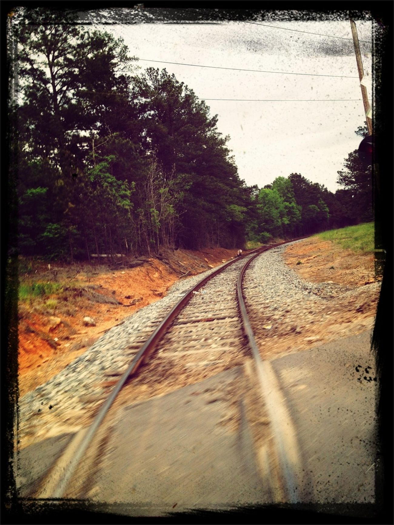 Railroad Rails Railway Railroad Love