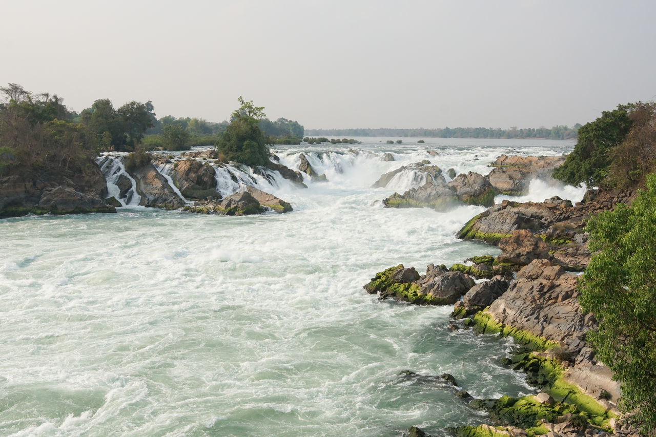 Khone Phapheng Waterfalls, Mekong River, Laos, Asia ASIA Beauty In Nature Bolaven Plateau Cataract Khone Phapheng Waterfalls Landscape Laos Mekong Mekong River Nature Outdoors Panorama River Scenery Scenics Sightseeing Tourism Tourism Destination Tourist Attraction  Tourist Destination Travel Travel Destinations Water Waterfall