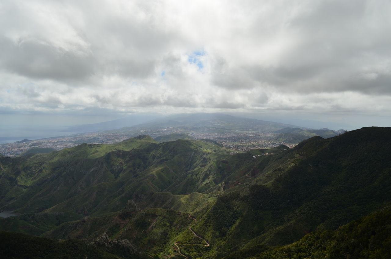 Tenerife Canary Islands Cloud - Sky Landscape Mountain Mountains And Sky Nature No People Outdoors Sky Tenerife Tenerife Island Teneriffa