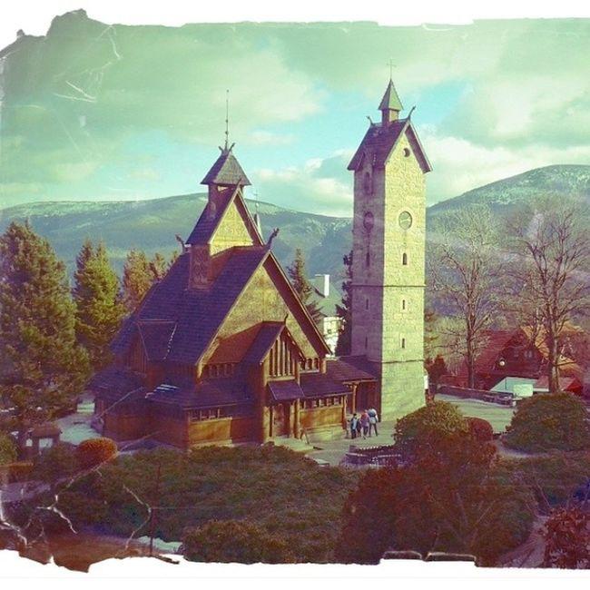 Wang Temple Poland Amazing Poland EyeEm Poland Architecture Mountains Landscape_photography Landscape_Collection EyeEm Landscape