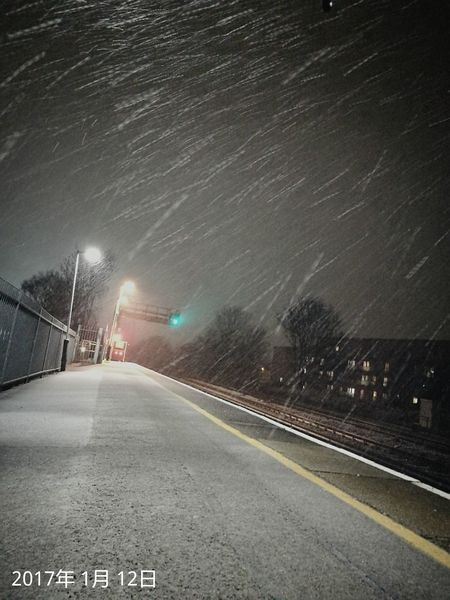 Night Cold Temperature Winter Motion Clear Sky London