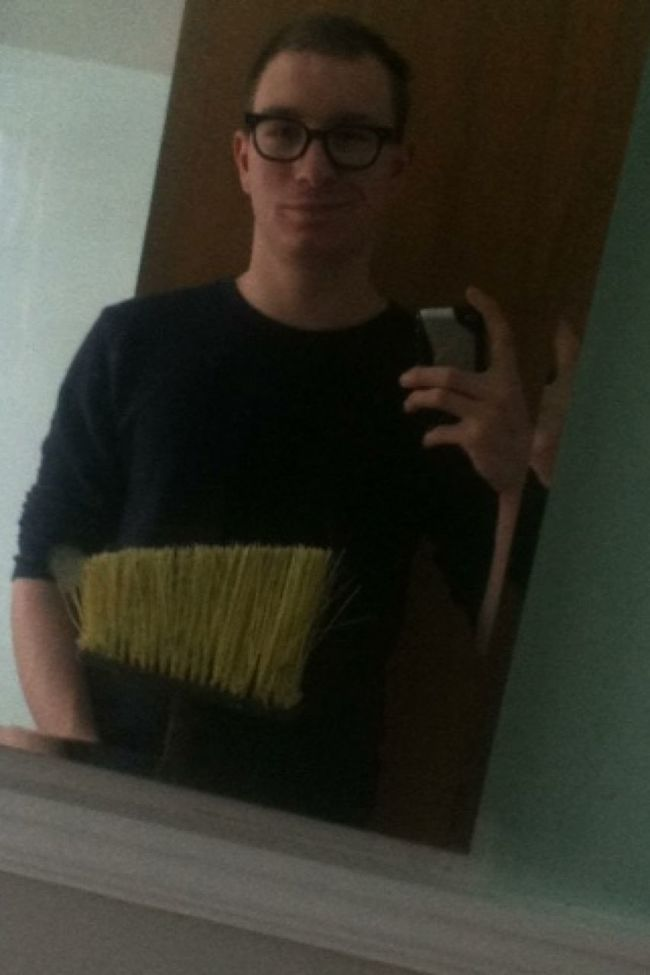 Sweep detail at work earlier today. Bored Working Followme YoungAndGettingIt