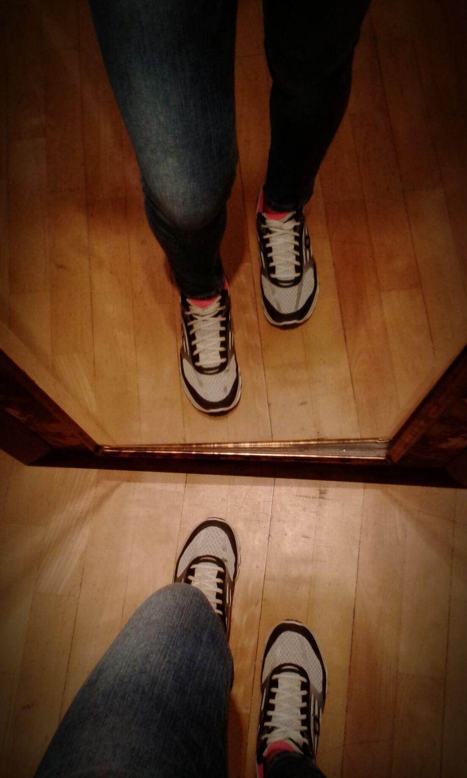 Taking Photos ❤ Mine Rubbershoes Mirrorshot