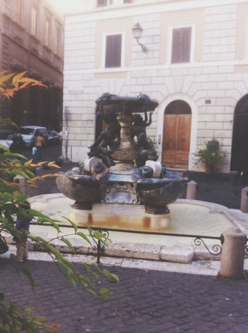 Roma Fontana Delle Tartarughe Sant'angelo Notes From The Underground