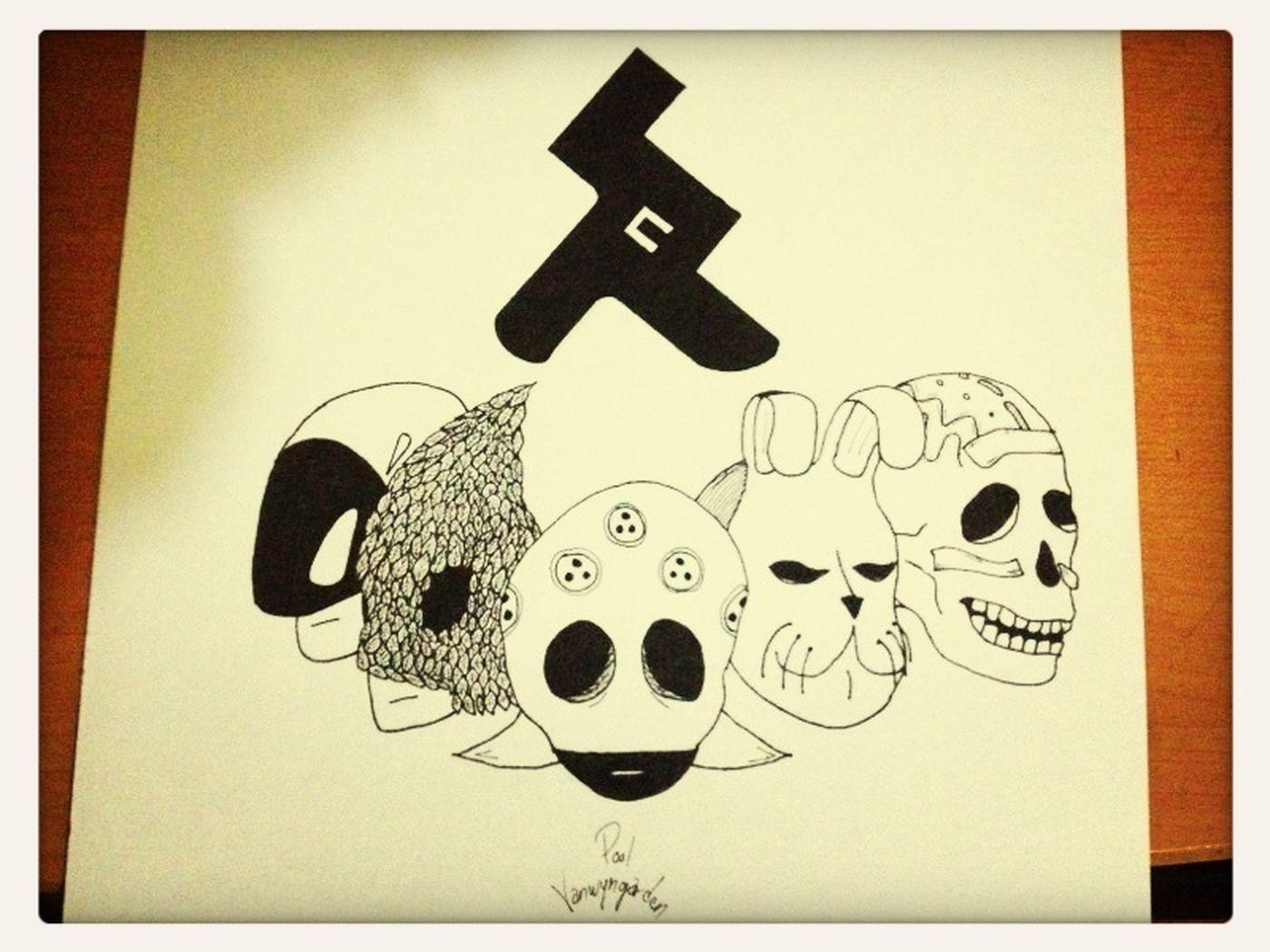Ilustracion Mascara Austin Tv