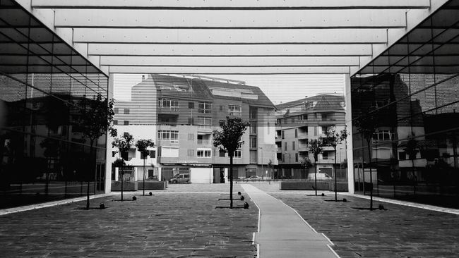 Building Architecture Reflection Glass Structures Landscape
