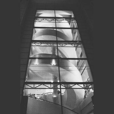 Stair Glass Box Light steelspiraligersarchitectureartvscovscocamvsco_hubbw