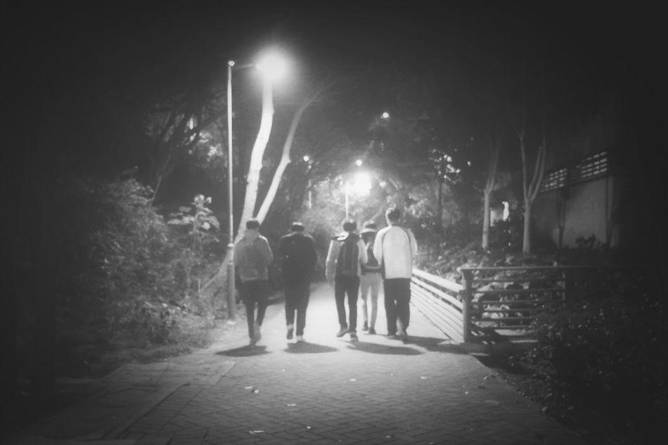 The Lost Boys Monochrome Black And White Black & White