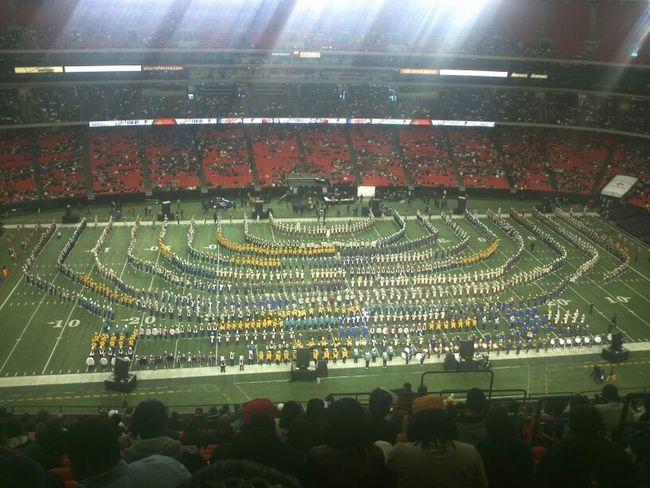 Mass Band At The BOTB