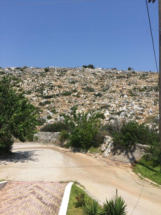 Kefalonia's stones. (1) Greece Photos Kefalonia Island Landscape Clear Sky Stone Hill Nature Outdoors