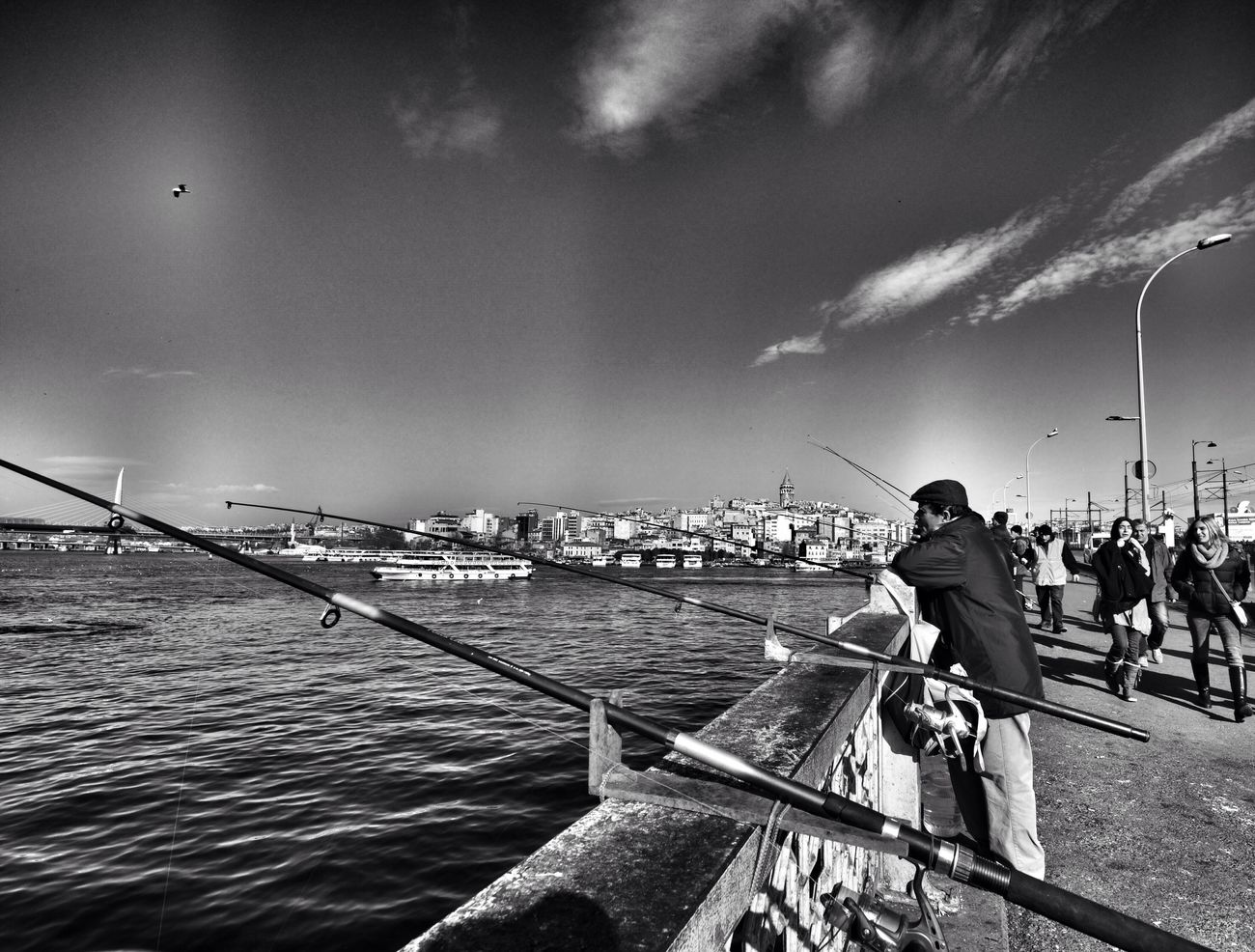 Blackandwhitephotography Waterfront Black & White Blackandwhite Bnw_collection Bnw_captures Bnwphotography EyeEm Best Shots EyeEm Best Shots - Black + White EyeEm Best Shots - The Streets Eye4photography  Bw_collection EyeEm Bnw BW Collection Bw Streetphotography Bw #bnw #BWcollaboration #istanbul #blackwhite #blackandwhite Taking Photos
