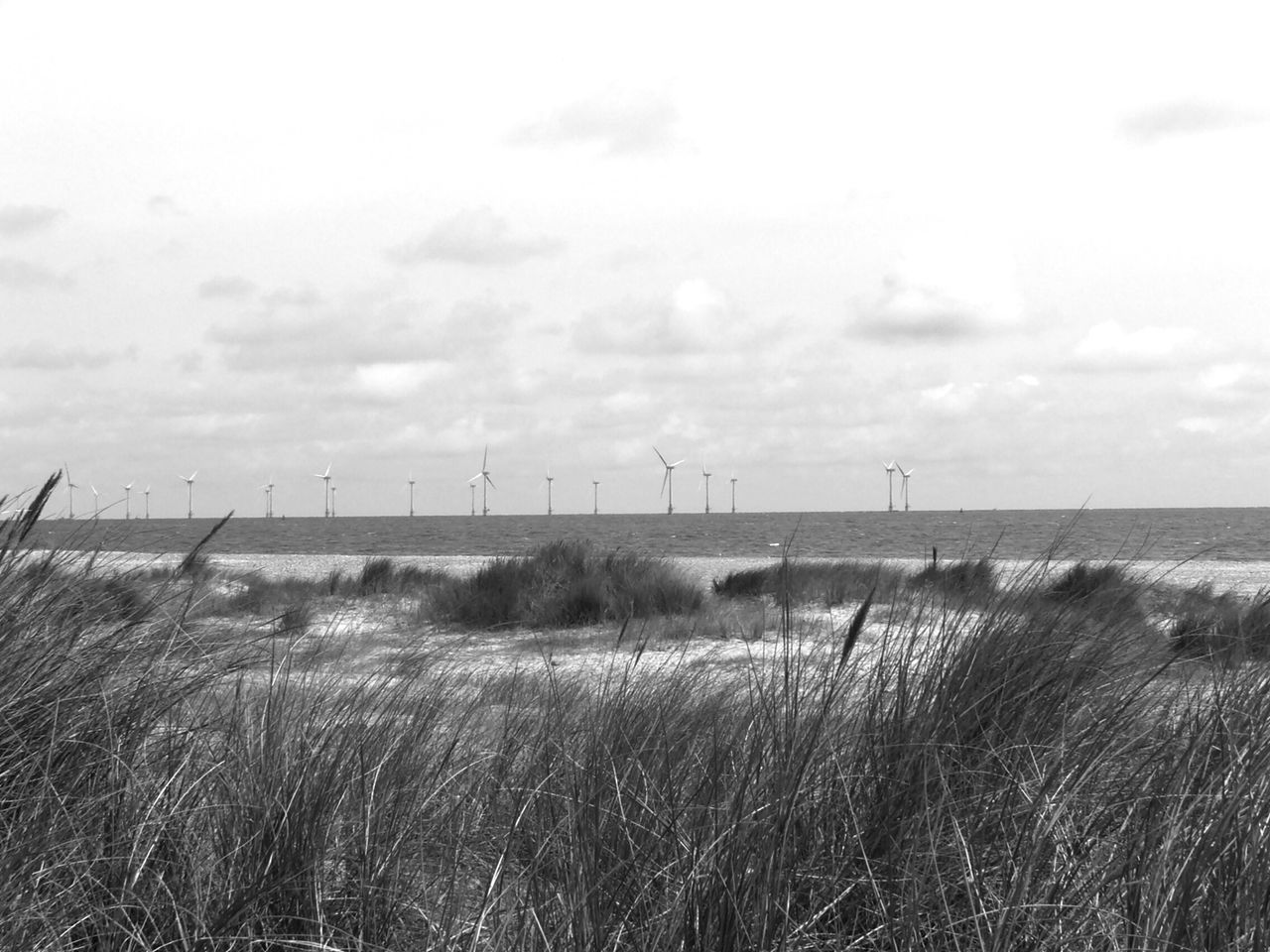 How Do We Build The World? Offshore Wind Farm Seascape Great Yarmouth Uk Less Pollution Sand Dunes Taking Photos Sea Grass