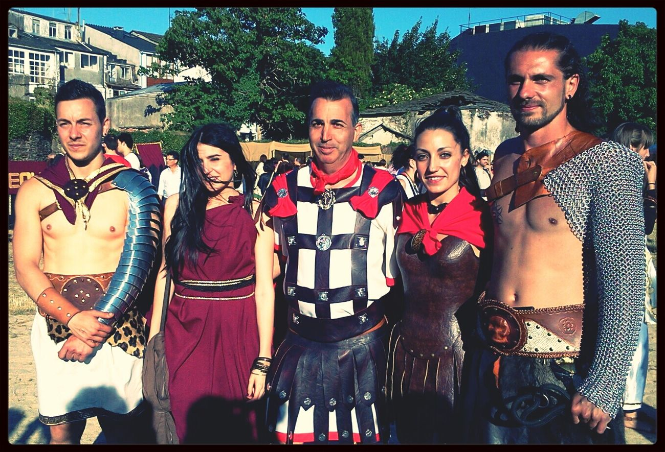 guerreros romanos y gladiadores Arde Lucus EyeEm Meetup ARDE LUCUS Customs Portrait