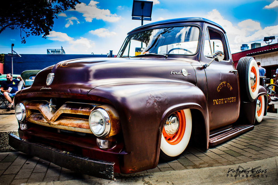City of Fort Worth 1955 Ford F250 1955 Car Classic Classic Car Classic Car Photography Classic Car Show Collector's Car F250 First Eyeem Photo Ford Ford F250 Ford Pickup Ford Pickup Trucks Ford Truck Fort Worth Old-fashioned Retro Styled Transportation