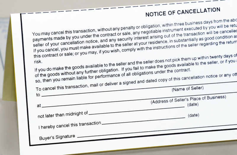 Notice of contract cancellation rights form. Consumer Protection Forms Termination Agreement Business Agreement Business Forms Buyer's Regret Buyers And Sellers Cancel Cancel Contract Cancellation Notice Communication Consumer Consumer Rights Contract Contract Cancellation No People Notice Paper Purchase Cancellation Text Transaction Transaction Cancellation
