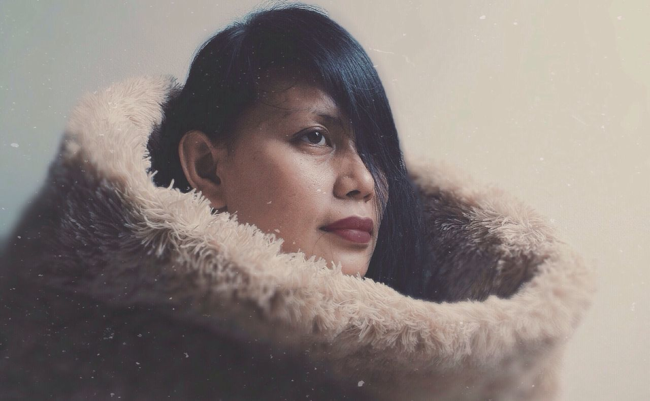 Fur Series Portrait Fashion Shootermag Taking Photos IPhoneography Vscocam