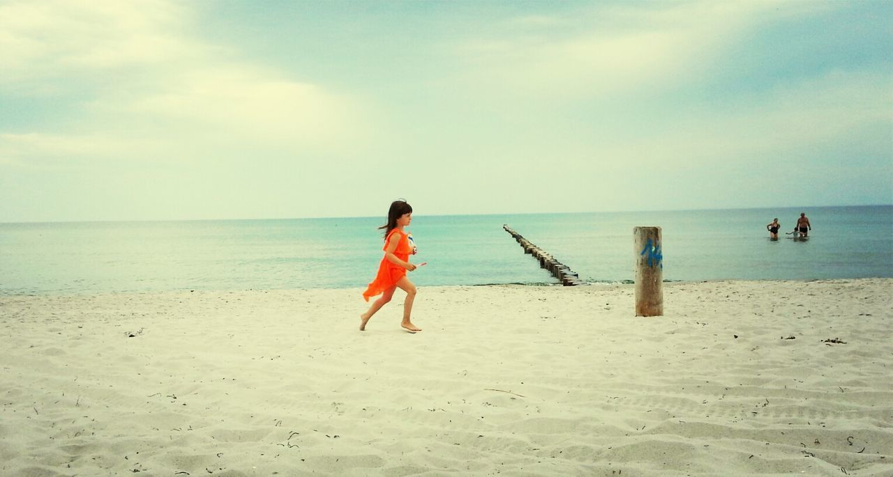 Beautiful stock photos of running, Beach, Beauty In Nature, Casual Clothing, Childhood