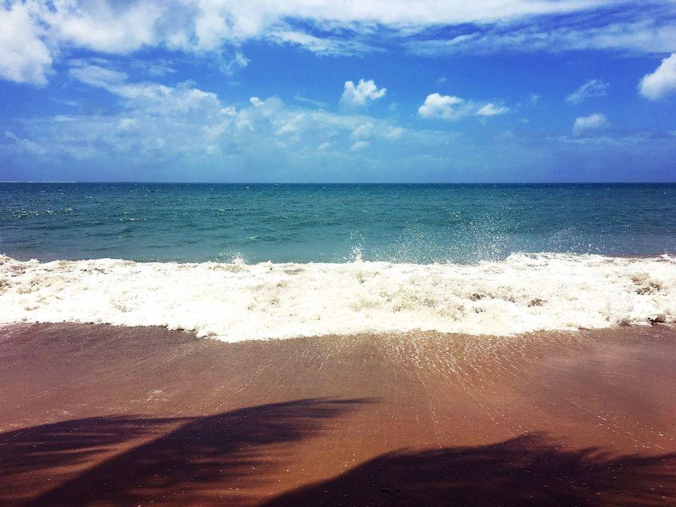 Sea Sea And Sky Seascape Seaside EyeEm Best Shots Beach Sky Tropical Climate Tropical Island Sand Shadow Colors Relaxing