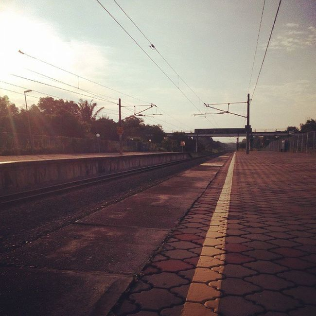 Morning Tiroi Ktm Railway 20150527