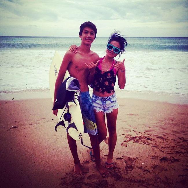 That's Me Sea Surfin Selfie
