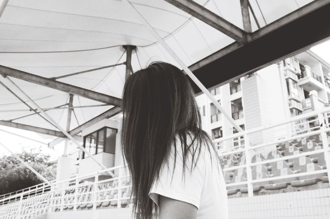 Enjoying Life Love ♥ With My Boyfriend <3 shot at college,luv my hair so much!