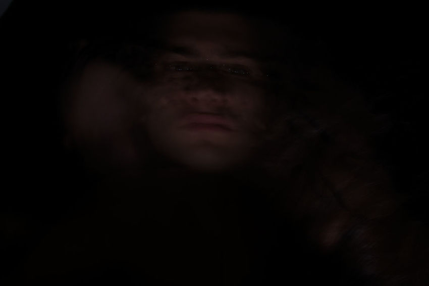 Contemplation Dark Human Body Part Part Of Person Real People Research Studio Shot Unrecognizable Person
