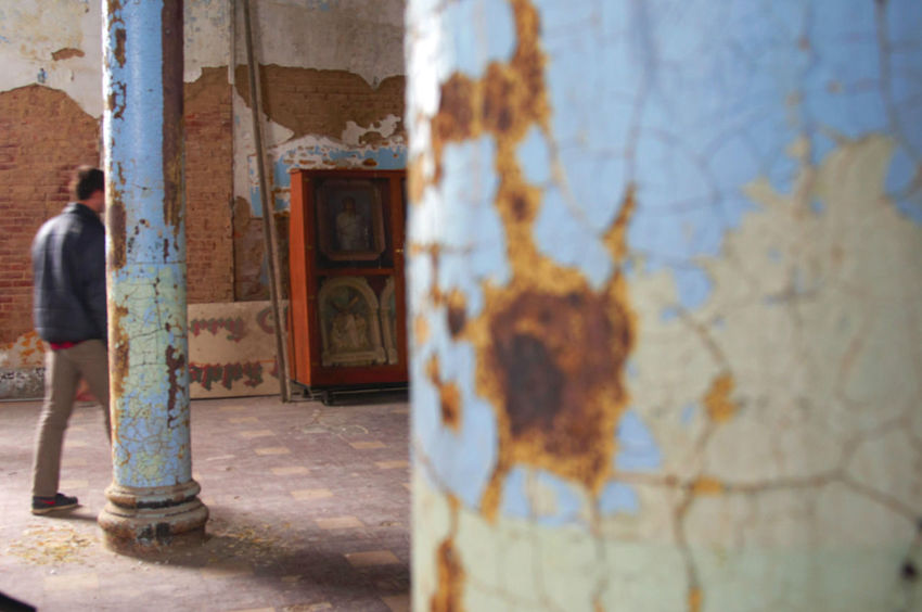 Mansfield Reformatory Ohio Candidshot Blue Abandoned Places Columns And Pillars Accidental Shot