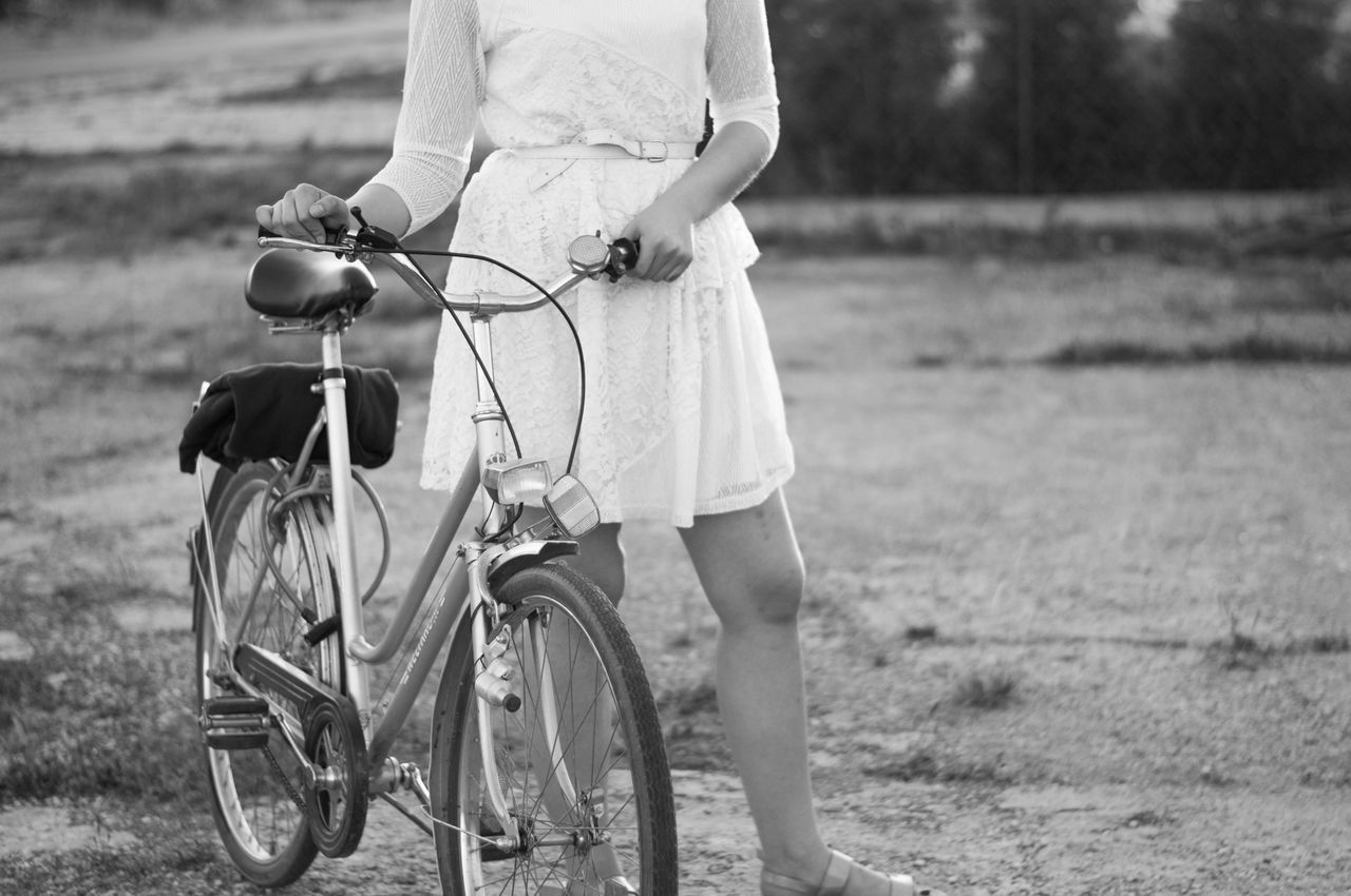 Bike Bnw Cute Dress Girly Gril Oldschool Traveling