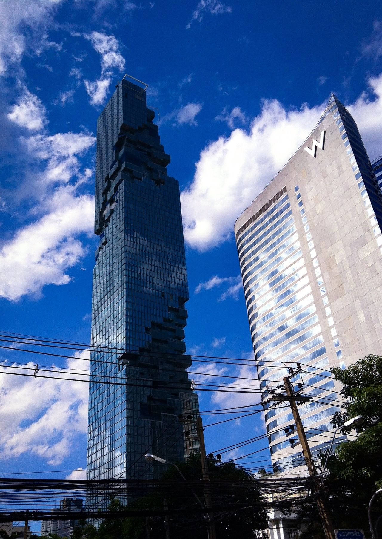 Architecture_collection Hotel Condominium Skycrapers Real Estate Sky Reflection Sky And Clouds Cloud Reflections Glass Building