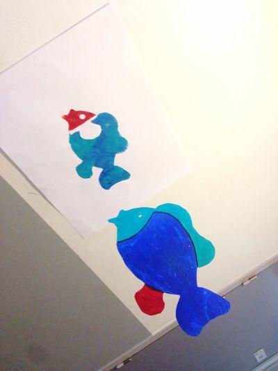 Art ArtWork Poisson 🐟 Poisson Fish Artplastique Optionart Art, Drawing, Creativity