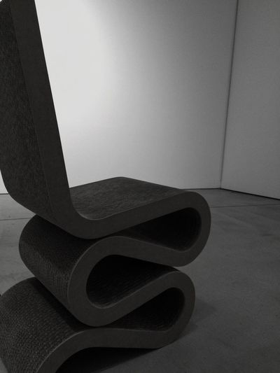 Frankgehry Wiggle Chair 21_21 Desing Sight Black And White Black&white Blackandwhite Black & White