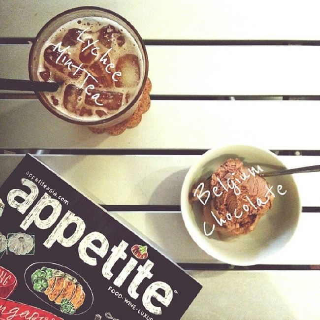 Appetite? Yea, only for desserts though :D Sgcafe Sgfood ButterStudio