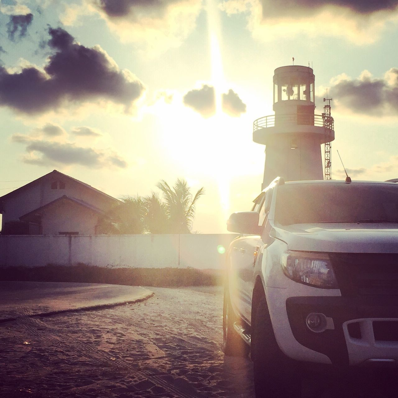 Sunlight Light And Shadow Lens Flare Outdoors Lighthouse Hello World Beauty In Nature Thailand FirstEyeEmPic
