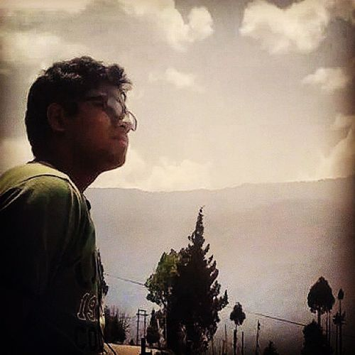 """A man with imagination is never alone"" Nickdick Buddy BhutanTrek Collegedays"