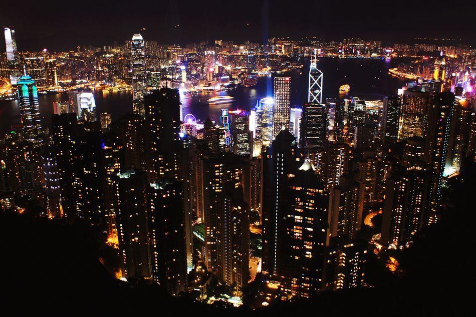 Vantage point Victoriapeakhongkong Discoverhongkong Cityscape