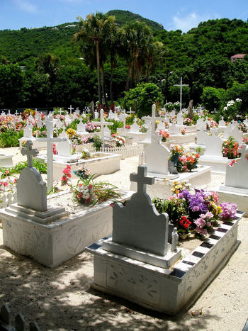Cimetière de Lorient St Barth St Barths St Barth Cimetiere Cimetary Cimetary Of St Barth Rip Perspectives On Nature Beauty In Nature Cemetery Day Flower Gravestone Graveyard Growth Memorial Nature No People Outdoors Plant Sky Sunlight Tombstone Tree