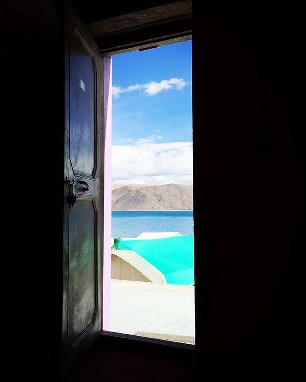 Window Indoors  Looking Through Window No People Nature Sky Water Pangonglake Pangong Tso India Asian  Lake View Lake Ladakhdiaries Ladakhtrip2016 Ladakh Ladakh Ways First Eyeem Photo Beauty In Nature Beauty Naturelove India Love Live