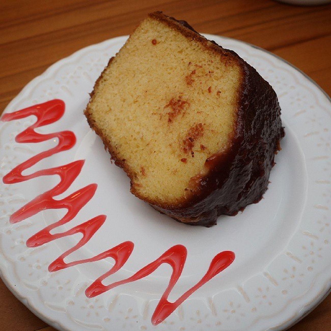 E depois, um delicioso Bolodemorango feito com Leitedesoja aeeeeee muito bom e muiito obrigado amigos do Villaaffogatocafe