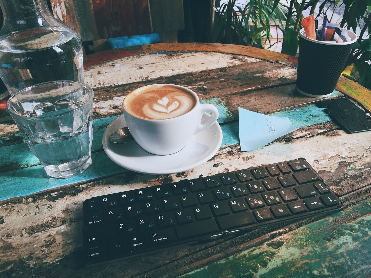 Beautiful stock photos of coffee, Cappuccino, Close-Up, Coffee - Drink, Communication