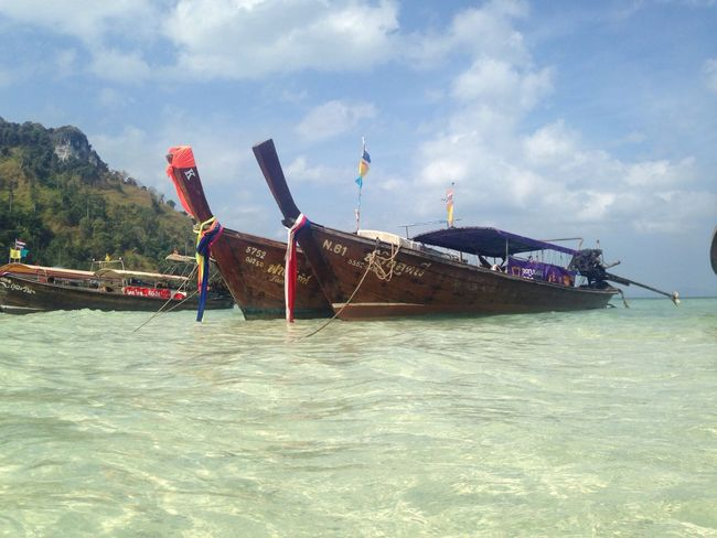 Boat in the White Sea Tub Island Ao Nong Thailand First Eyeem Photo