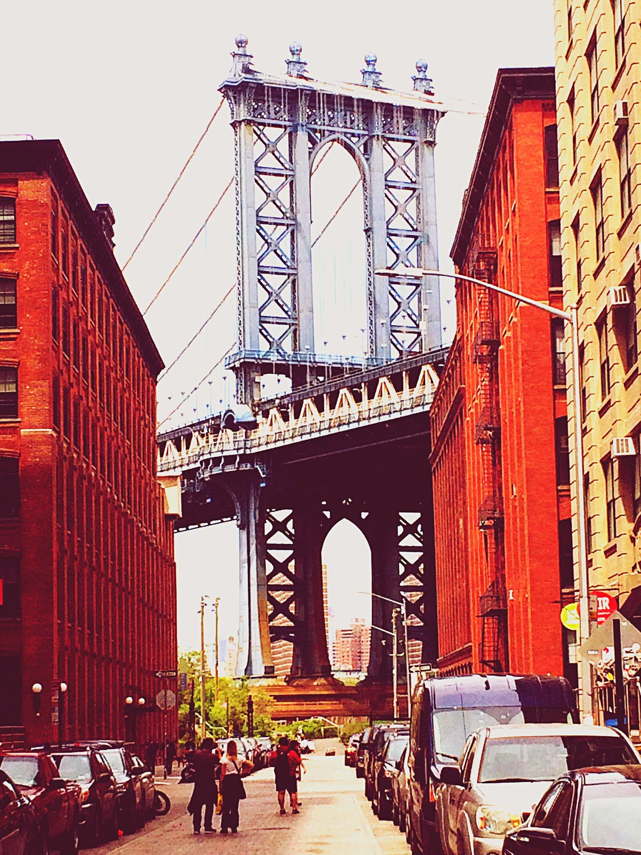 Architecture Travel Destinations Building Exterior Outdoors City Street Photography DUMBO, Brooklyn DUMBO Brooklyn Nyc Brooklyn Bridge / New York Brooklyn Bridge  Brooklyn Streetphotography Colorfulbuildings