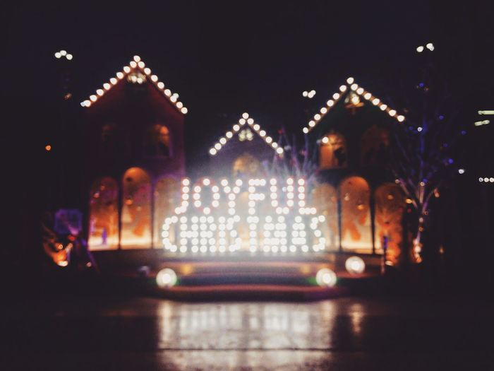 My Year My View Christmas Lights Christmas Dots Light Darkness And Light Decorations Blur Interesting Camerafail