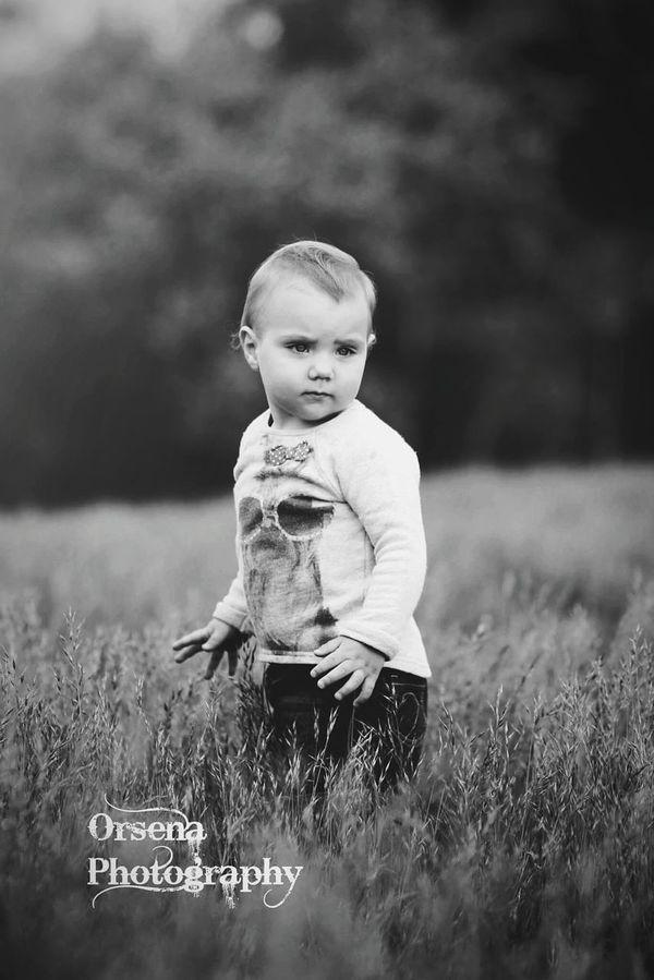 Basia Capture The Moment Black & White Monochrome Shadows Sweet Girl Chaildren Canon60d