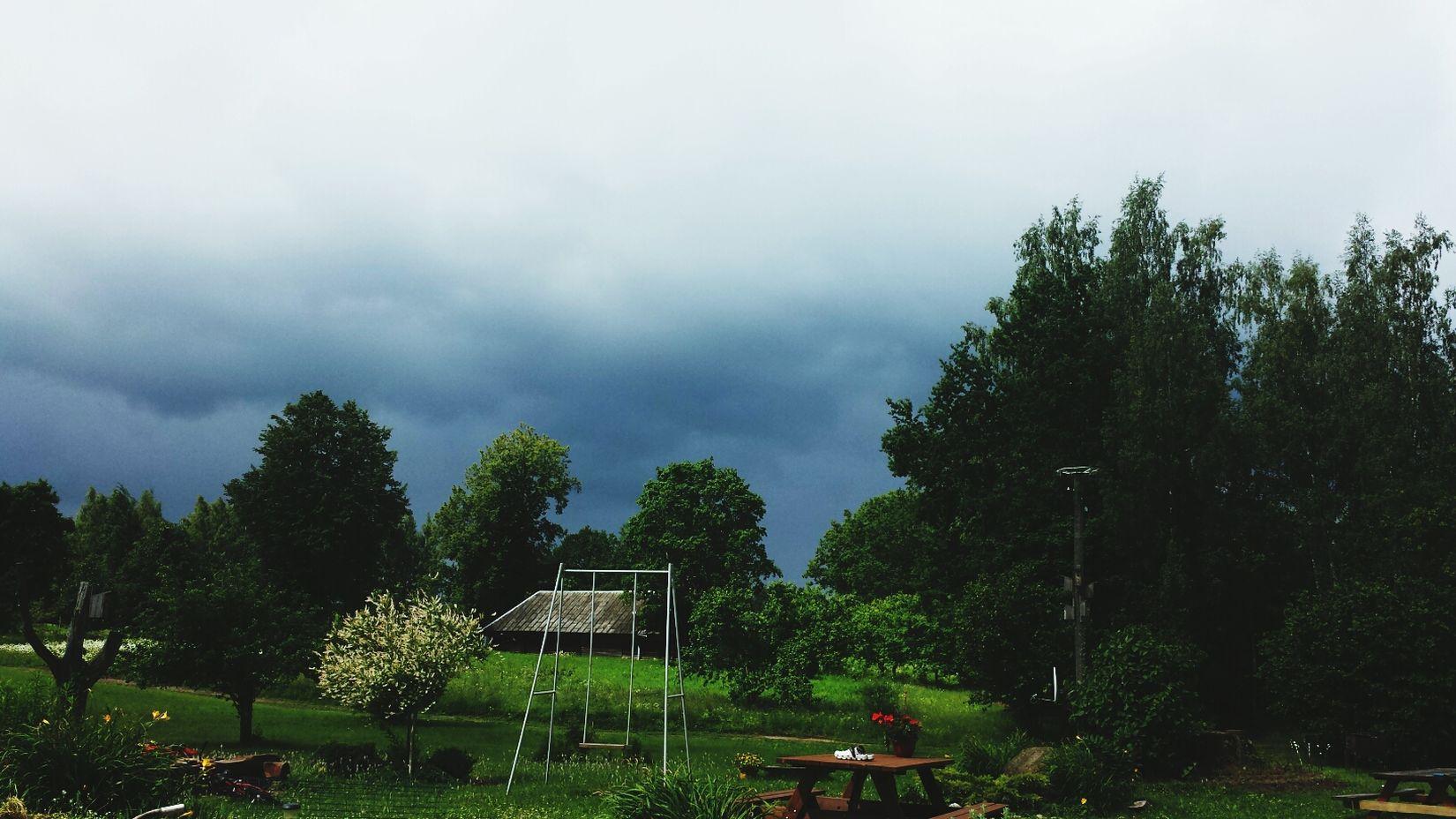 Rain Sky Nature Galaxys4