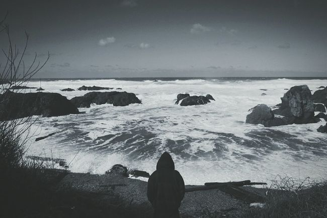 Shades Of Grey Nature_collection Blackandwhite Photography Ocean_Collection ~~ Coastline Creative Shots Eyem Nature Lover Landscape_photography Manvsnature  Hightides