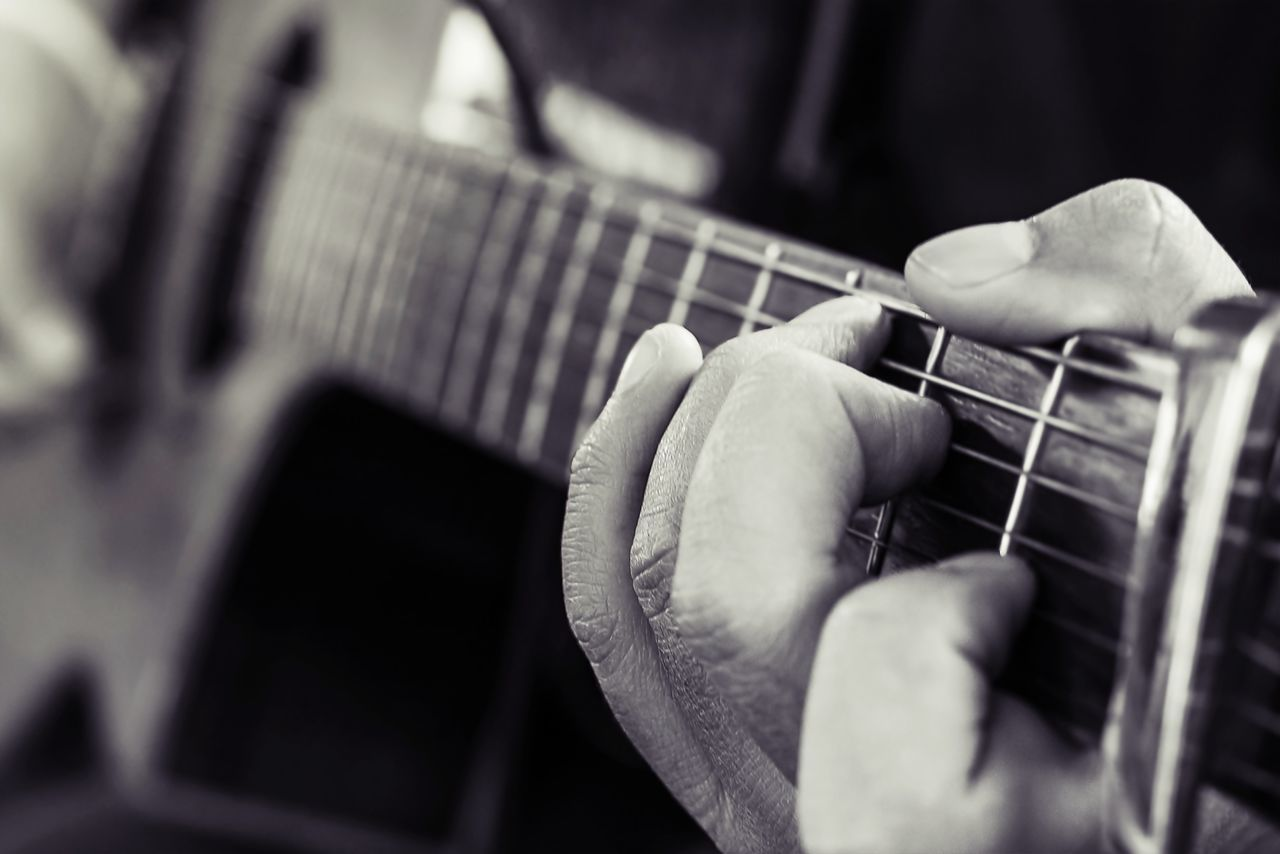 Beautiful stock photos of gitarre, Acoustic Guitar, Arts Culture And Entertainment, Close-Up, Cropped