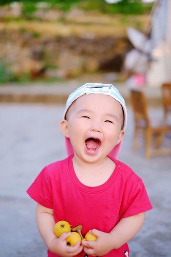 童真 Baby Babyhood Focus On Foreground Real People Cute Childhood Toddler  first eyeem photo