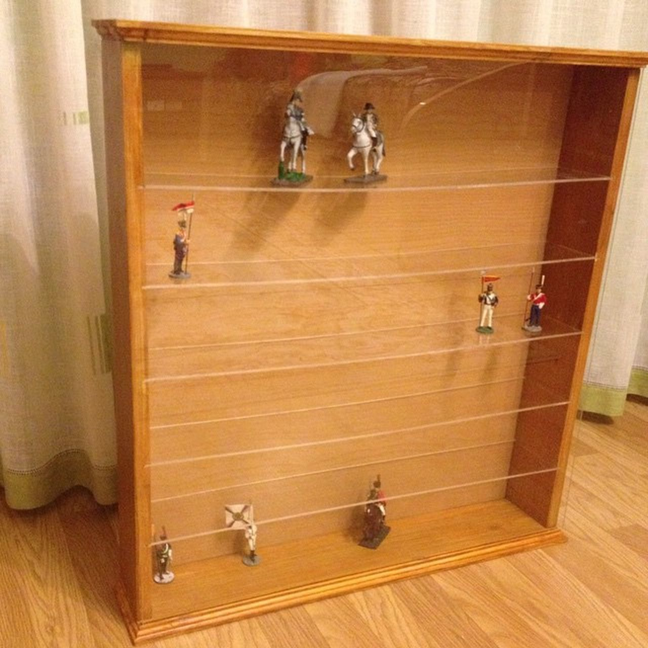 """DIY Woodworking Eaglemoss Partworks своимируками Стеллаж для коллекции """"Наполеоновские войны"""". Завершающие этапы. В процессе наполнения"""