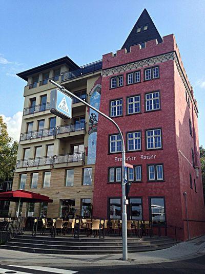 Koblenz Architectue Cafe Mosel
